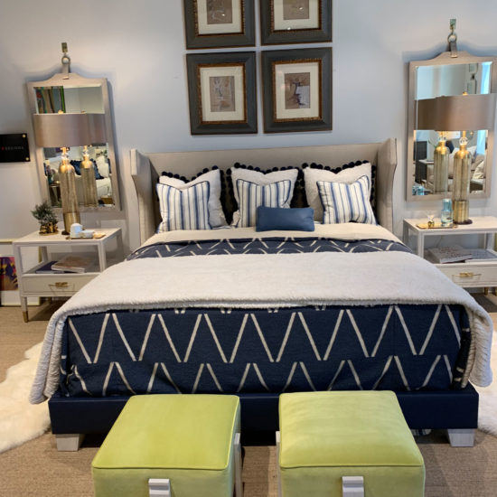 Chaddock Entitled Bed and Night Tables