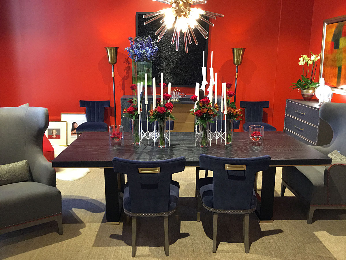 Chaddock Table and Side Chairs
